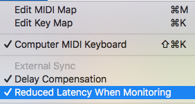 How to reduce latency – Ableton