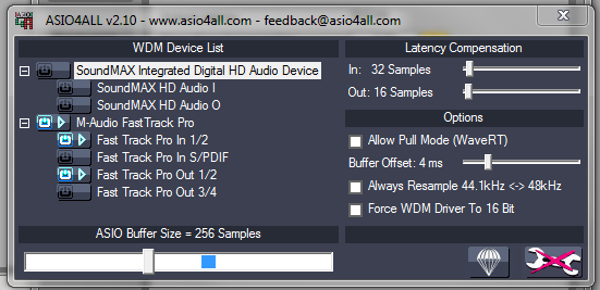 ASIO4ALL LOW LATENCY 64BIT DRIVER