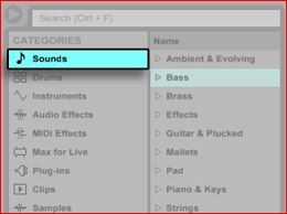 Live 9: Playing Software Instruments – Ableton