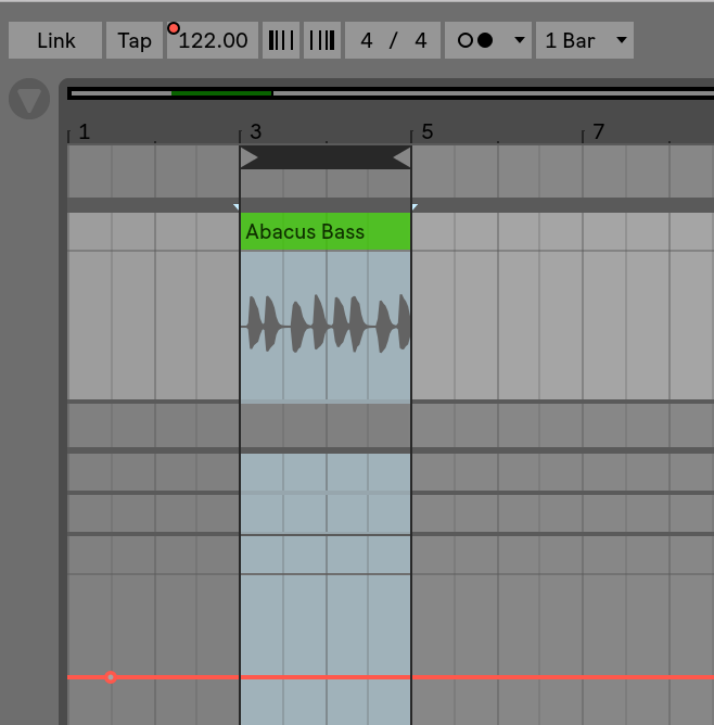 Setting exact BPM values in the Arrangement View – Ableton