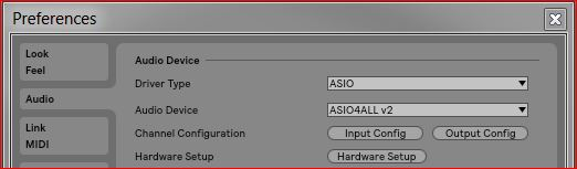 Setting up ASI04ALL (Windows) – Ableton