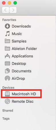 how to make hidden folders on mac