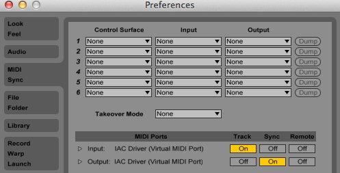 how to change semitones on midi ableton