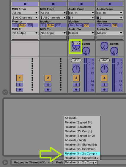 Push 1 & 2: User Mode for custom MIDI mappings – Ableton