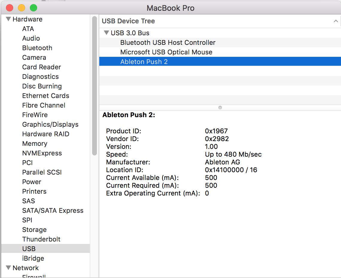 Push 2 only loads to logo screen (Mac) – Ableton