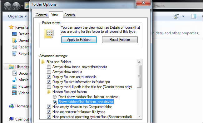 How to access hidden folders – Ableton
