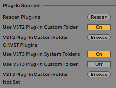 VST/AU plug-in doesn't appear in Live – Ableton